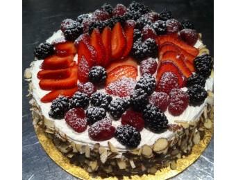 passionfruit torte