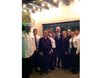 joe biden and staff