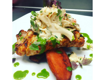 coleslaw crab cake